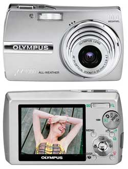 OLYMPUS Mju 1000 Digital + 1Gb xD-Picture card