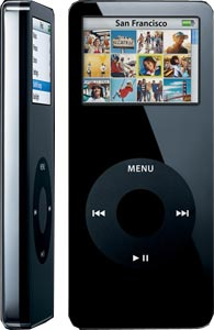 APPLE iPod nano 1Gb Black