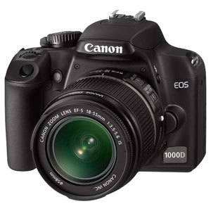 CANON EOS 1000D Kit (Canon EF-S 18-55 IS)