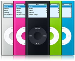 APPLE iPod nano 4Gb 2nd Generation