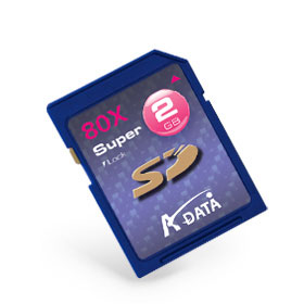 A-DATA Secure Digital 2GB 80X