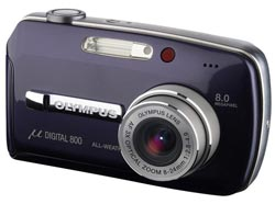 OLYMPUS Mju 800 Digital Black Premium Kit