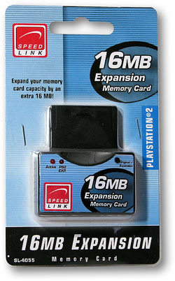 Speed-Link PS2 16MB Expansion Memory Card SL-4055