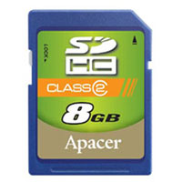 APACER Secure Digital 8GB SDHC class6