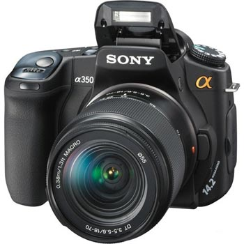 SONY Alpha DSLR-A350K (18-70)