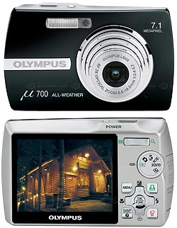 OLYMPUS Mju 700 Digital + 256Mb xD-Picture card